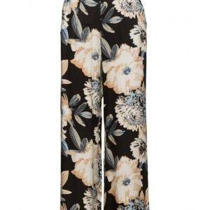 ICHI Botanic Pa leveälahkeiset housut