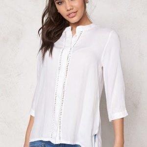 ICHI Circle Shirt 10100 White