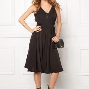 ICHI Collir Dress Black