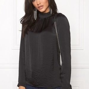 ICHI Collir Shirt Black