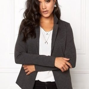 ICHI Kate Blazer Dark Grey Melange
