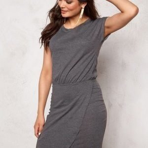ICHI LA Dress 10021 Dark Grey Mela