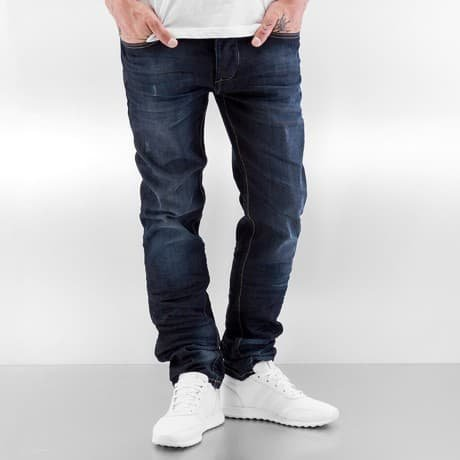ID Denim Straight Fit Farkut Sininen