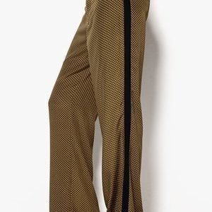 INTRO//MUSE Pilar Trousers Khaki Dot