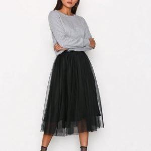 Ida Sjöstedt Flawless Skirt Pitkä Hame Black