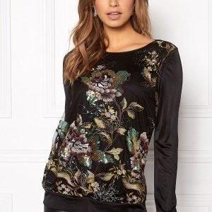 Ida Sjöstedt Ginger sweater Black/Multi