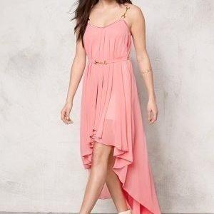 Ida Sjöstedt Stephanie Chiffon Dress Pink