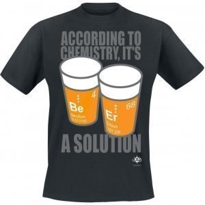 Ifls I Fucking Love Science Beer Solutions T-paita