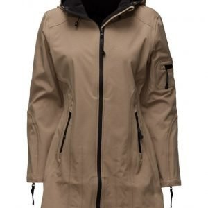Ilse Jacobsen Hip-Length Softshell Raincoat