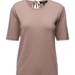 Ilse Jacobsen Womens Knitted T-Shirt lyhythihainen pusero