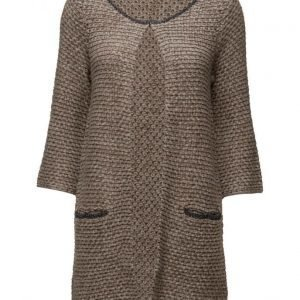 Ilse Jacobsen Womens Long Knit Cardigan neuletakki
