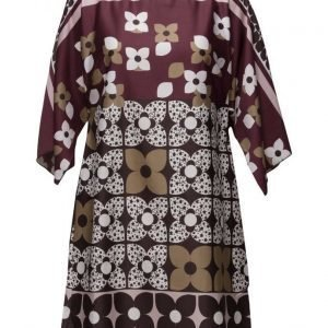Ilse Jacobsen Womens Retro Floral Dress lyhyt mekko