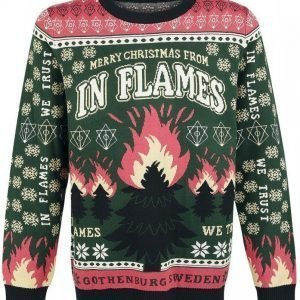 In Flames Holiday Sweater 2016 Neulepaita