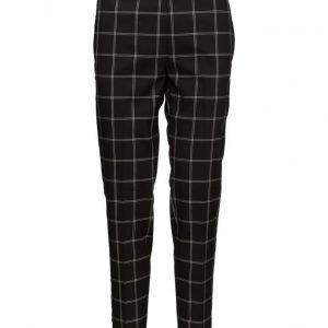 InWear Cheque Slim Pant Hw skinny housut