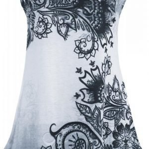 Innocent Lace Panel Vest Naisten Toppi