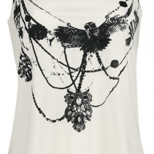 Innocent Owl Necklace Vest Naisten Toppi