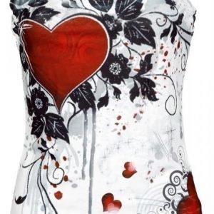 Innocent Rose Heart Naisten Toppi
