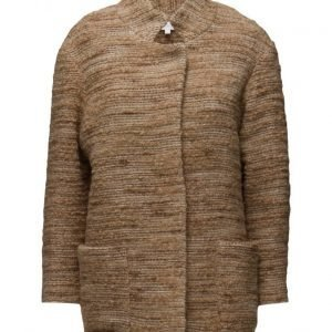 Intropia 3/4 Length Jacket villakangastakki