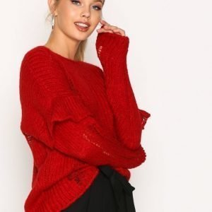 Iro Dafnae Top Neulepusero Red