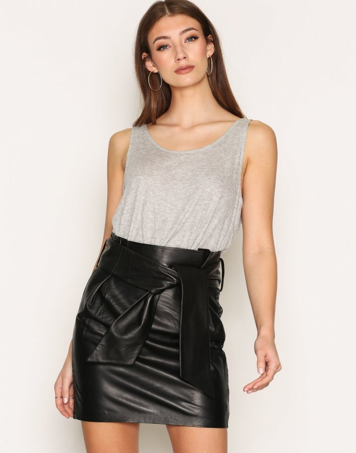 Iro Kanel Skirt Midihame Black