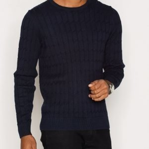 J Lindeberg Hugo Square Braid Pusero Navy