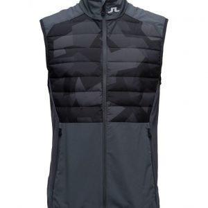 J. Lindeberg M Hybrid Vest Black Camo urheiluliivi