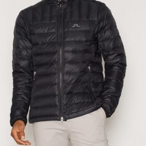 J Lindeberg M Radiator Sweater Pertex Q Takki Black