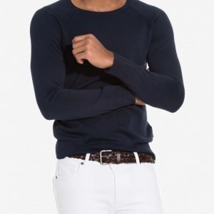 J Lindeberg Milo Summer Cotton Pusero Dark Navy