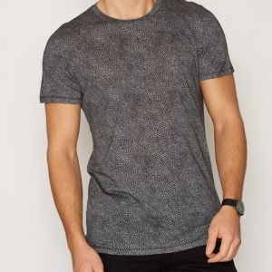 J Lindeberg Sev C Snug Jersey T-paita Musta/vihreä