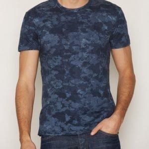 J Lindeberg Sev C Wave Jersey T-paita Navy