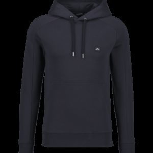 J Lindeberg Throw Hood Cotton Sweat Collegepaita