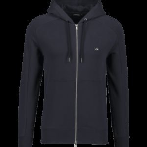 J Lindeberg Throw Zip Hood Cotton Sweat Huppari