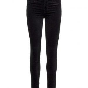 J brand Mid-Rise Luxe Velveteen Super Skinny skinny housut