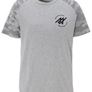 JACK&JONES T-paita Mel. harmaa
