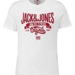 JACK&JONES T-paita Raffa Valkoinen