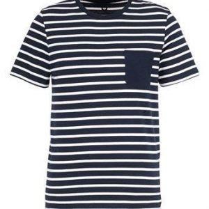 JACK&JONES T-paita Table Laivastonsininen Offwhite