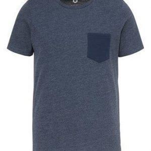JACK&JONES T-paita Table Mel. laivastonsininen