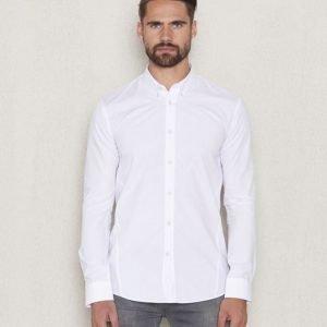 JUNK de LUXE Classic Poplin BD Shirt White