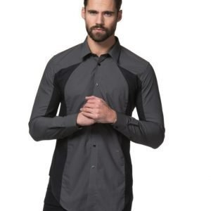 JUNK de LUXE Colour Block Shirt Black