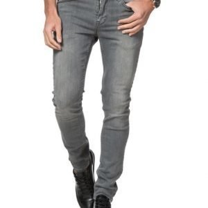 JUNK de LUXE Grey Skinny Jeans Washed Grey