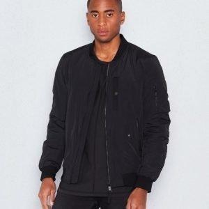 JUNK de LUXE Padded Comber Jacket Black