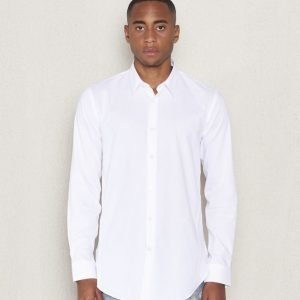 JUNK de LUXE Plain LS Longshirt White