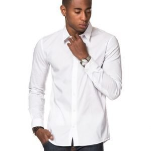 JUNK de LUXE Stretch Poplin Shirt White