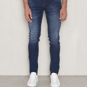 JUNK de LUXE Super Stretch Jeans Blackened Indigo Wash