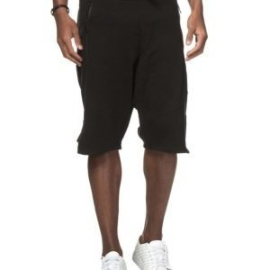 JUNK de LUXE Sweat Skater Shorts Black