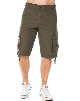 Jack & Jones Andy Cargo Shorts Olive Night
