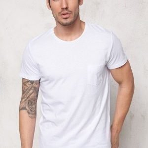 Jack & Jones Ari ss Tee White