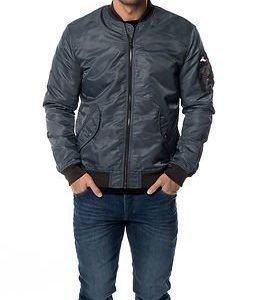 Jack & Jones Axe MA1 Jacket Dark Slate