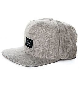 Jack & Jones Basic Snapback Cap Grey Melange