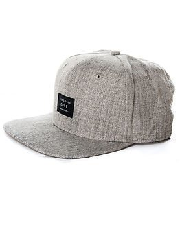 748203fac17 ... Jack   Jones Basic Snapback Cap Grey Melange